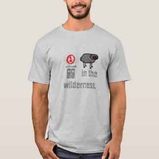 Camiseta ninety & nove na região selvagem