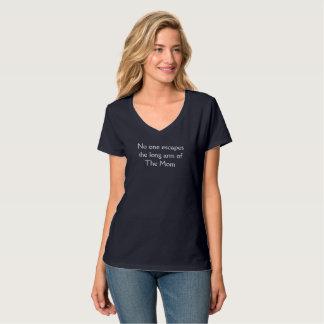 Camiseta Ninguém escapa o braço longo do Mom.