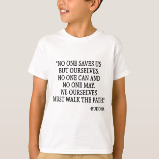 Camiseta Ninguém salvar nos mas nós