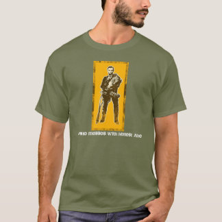 Camiseta Ninguém suja com Abe honesto