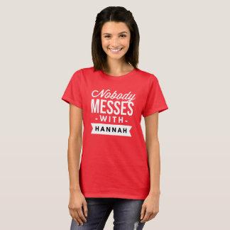 Camiseta Ninguém suja com Hannah
