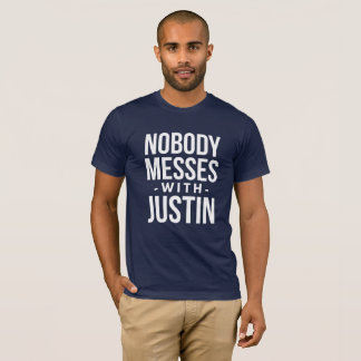 Camiseta Ninguém suja com Justin
