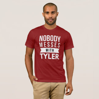 Camiseta Ninguém suja com Tyler