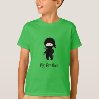 Camiseta Ninja minúsculo que guardara a estrela de jogo -
