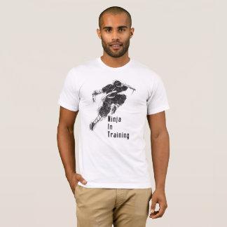 Camiseta Ninja no treinamento