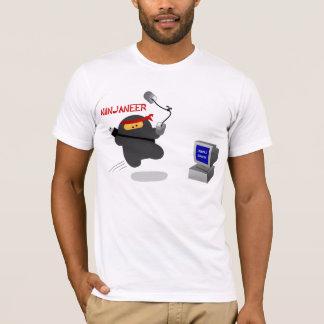 Camiseta Ninjaneer contra o erro fatal