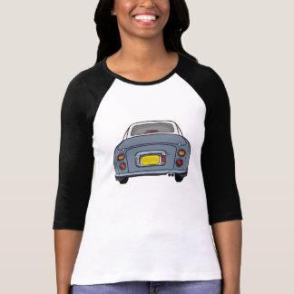 Camiseta Nissan Figaro - luva do comprimento do cinza 3/4