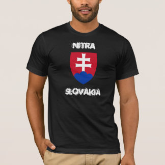 Camiseta Nitra, Slovakia com brasão
