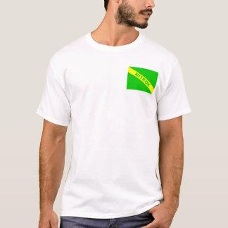 Camiseta Nitrox/bandeira do mergulho