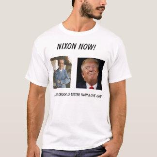 Camiseta Nixon agora! … - Personalizado
