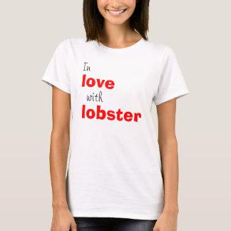 Camiseta No amor com lagosta