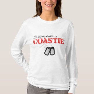 Camiseta No amor com um Coastie
