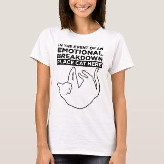 Camiseta No caso de uma DIVISÃO EMOCIONAL
