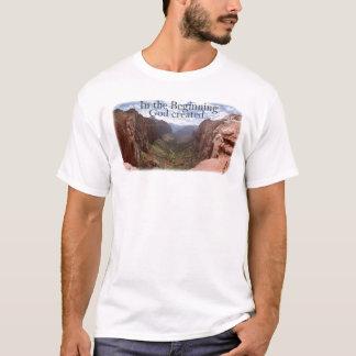 Camiseta No começo…