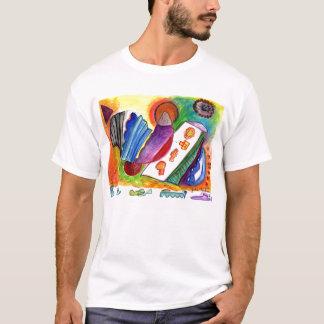 Camiseta No. dobrado 1-08 da abstracção