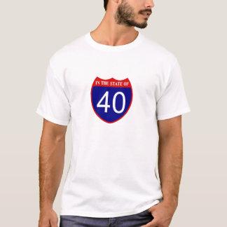 Camiseta No estado de 40