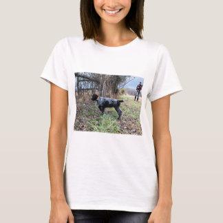 Camiseta No filhote de cachorro do ponto