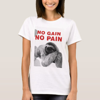Camiseta no gain no pain
