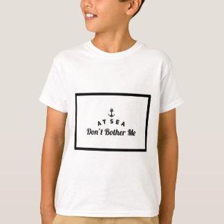 Camiseta No mar não me incomode
