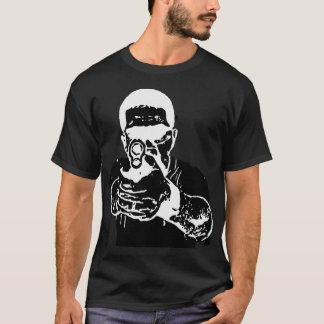Camiseta no preto da vista