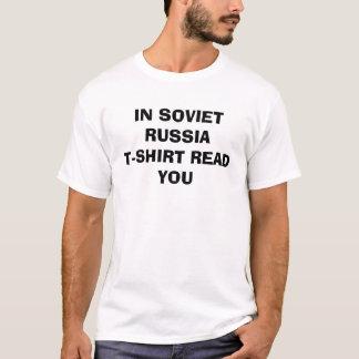 CAMISETA NO SOVIETE RUSSIAT-SHIRT LEU-O