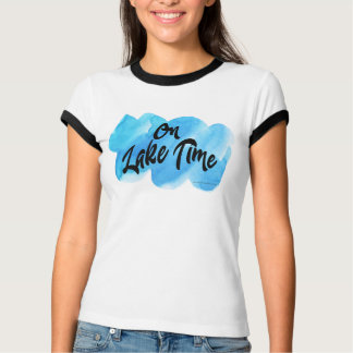 Camiseta No t-shirt do tempo do lago