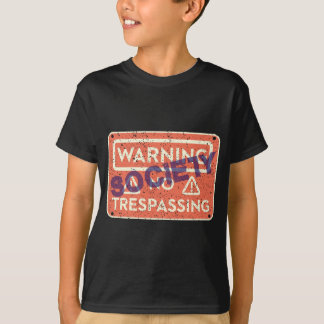 CAMISETA NO-TRESPASSING-SOCIETY