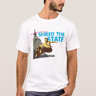 Camiseta Noam Chomsky quê-lo ao fragmento o estado