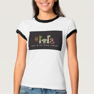 Camiseta noite do adubo vivo! em sua camisa!