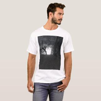 Camiseta Noite escura, delével