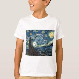 Camiseta Noite estrelado