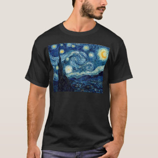 Camiseta Noite estrelado por Vincent van Gogh