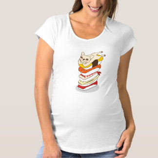 Camiseta Noite japonesa do sushi para o buldogue francês