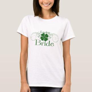 Camiseta Noiva afortunada