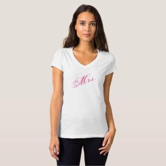 Camiseta Noiva ou esposa da Sra. T-shirt Para Novo