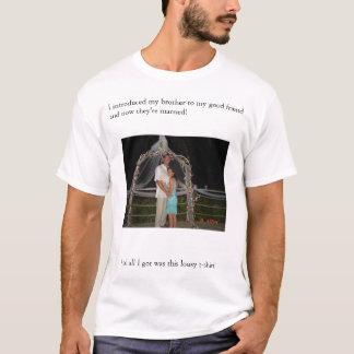 Camiseta noivado