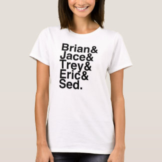 Camiseta Noivo Brian do livro, Jace, Trey, Eric, Sed