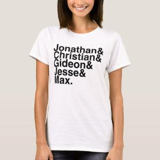 Camiseta Noivo Jonathan do livro, cristão, Gideon, Jesse