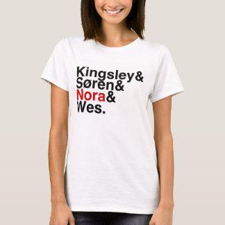 Camiseta Noivo Kingsley do livro, Soren, Nora, Wes