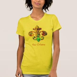 Camiseta NOLA pintou a flor de lis (4)