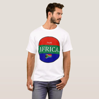 Camiseta Nome comercial do desenhista de África do Sul