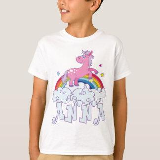 Camiseta Nome do unicórnio de Anna