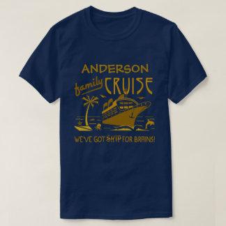 Camiseta Nome feito sob encomenda engraçado V2 do navio  