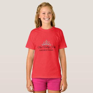 Camiseta Nome feito sob encomenda superior das meninas da