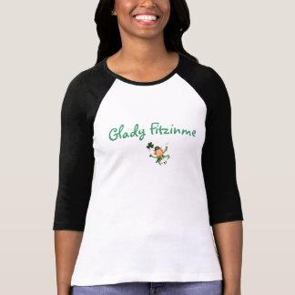 Camiseta Nome irlandês honorário para o Dia de São Patrício