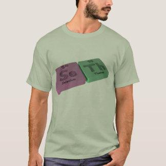 Camiseta Nome-Seth-SE-Th-Selênio-Tório