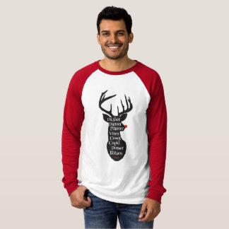 Camiseta Nomes da rena