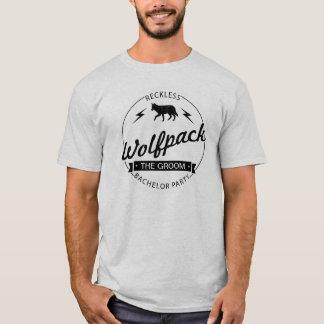 Camiseta Nomes imprudentes dos padrinhos de casamento do