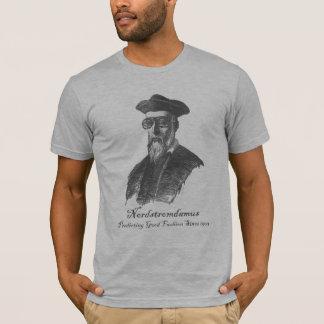 Camiseta Nordstromdamus: Boa forma de predição