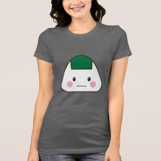Camiseta Nori japonês da alga da bola de arroz do omusubi